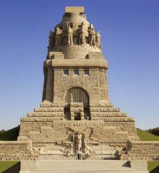 Völkerschlachtdenkmal, erbaut 1898-1913