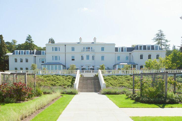 Coworth Park wedding venue lawns