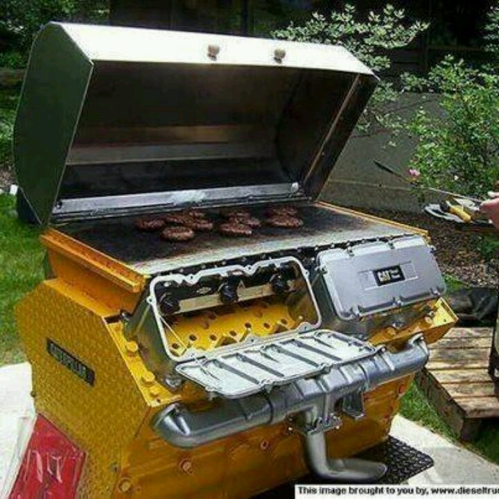 how to make a engine grill