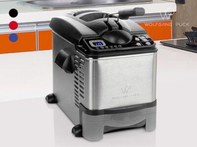 Wolfgang Puck Digital Stainless Steel Deep Fryer - Open Box