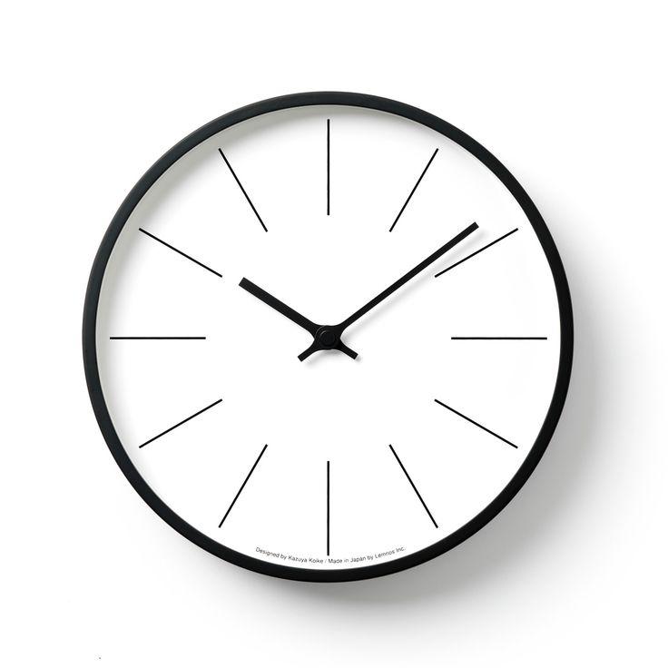 時計台の時計[電波時計]/ Line (KK13-16 C) | CASA | | TAKATA Lemnos online shop