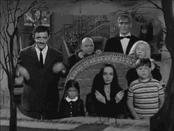 the addams family Gomez Addams Morticia Addams Wednesday Addams Pugsley Addams Lurch fester addams Grandmama Addams
