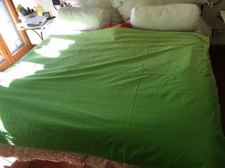 A casa di Bridget.: Come piegare le lenzuola. Parte 2: il lenzuolo sop...
