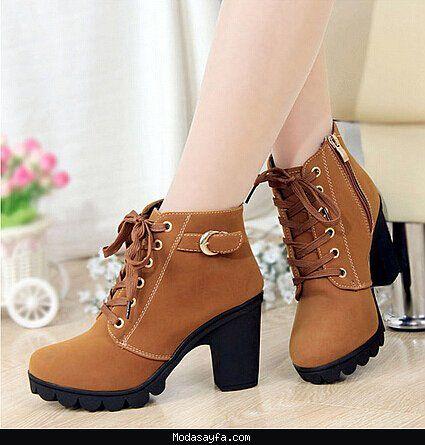 Kısa topuklu bayan ayakkabı modelleri 2016 - http://modasayfa.com/kisa-topuklu-bayan-ayakkabi-modelleri-2016/