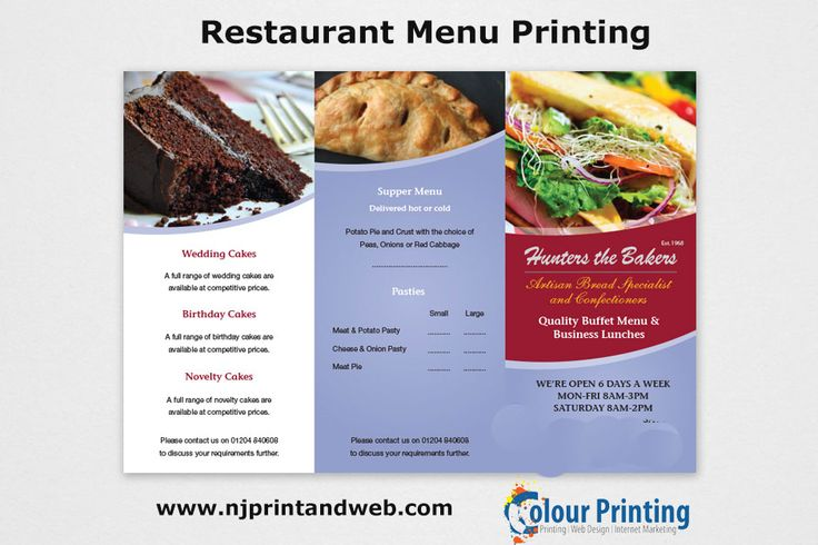 270 best images about restaurant menu printing on for Design your own restaurant