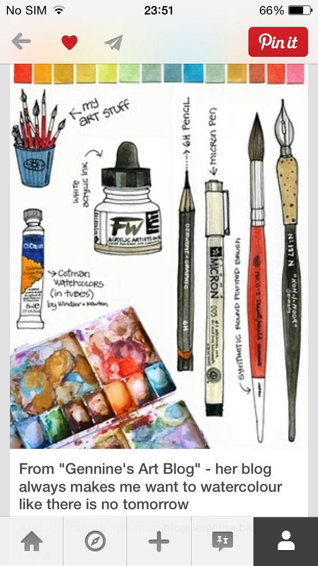 Watercolor Art Blog