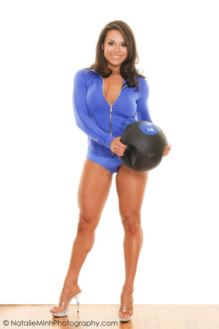 The New Face of Powerlifting. Introducing the gorgeous Nicki Crapotta.     MUAH: Eileen Sandoval.   Photography: Natalie Minh http://natalieminhphotography.com