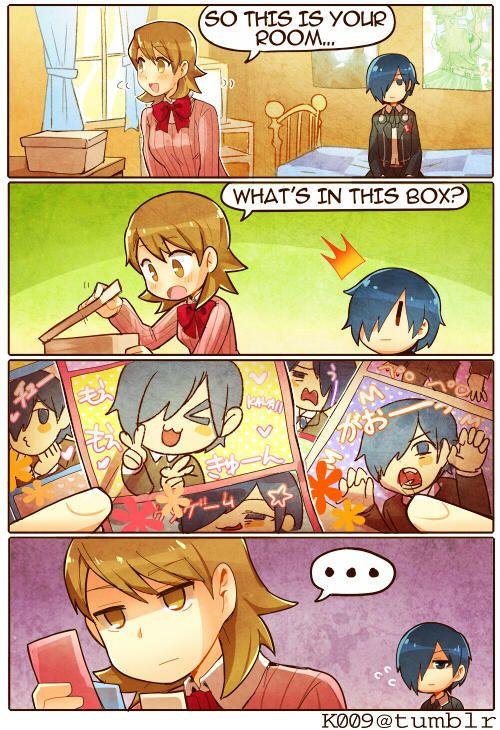 P3 Charm by kata009 Persona, Persona 5 memes, Shin