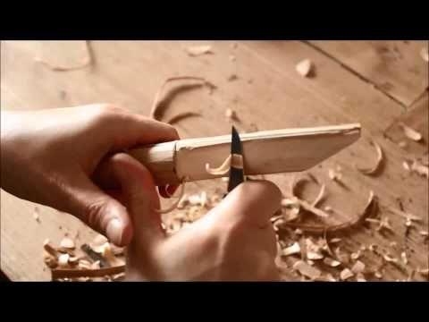 Messer schnitzen - YouTube
