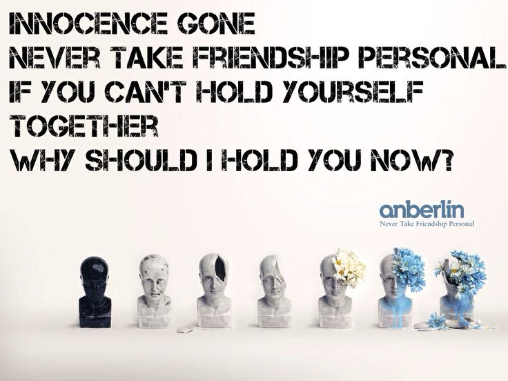 Anberlin- Never Take Friendship Personal