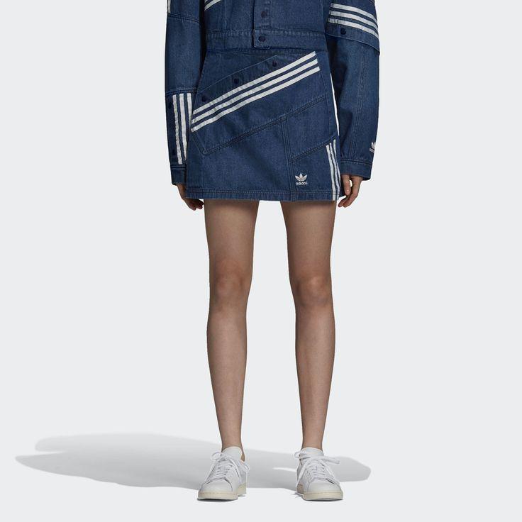 Hennes samarbete med adidas Originals ger klassiska 3-Stripes en fräsch  touch med modevibbar från tidigt 2000-tal. Denna kjol för dam är inspirerad  av ...