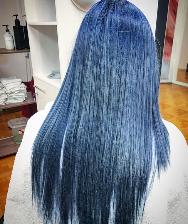 Bluehair Dont Care Sundayfunday Is In Full Swing Hair By