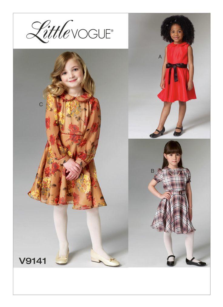 60 best Vogue kids patterns images on Pinterest | Vintage ...