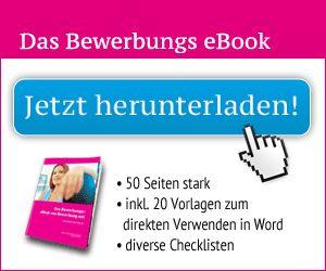 Bewerbung e-book