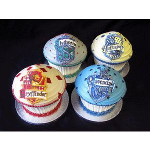 Imagen de cupcakes, harry potter, and hogwarts