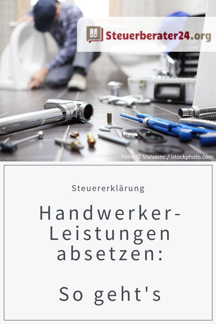Handwerkerleistungen Absetzen