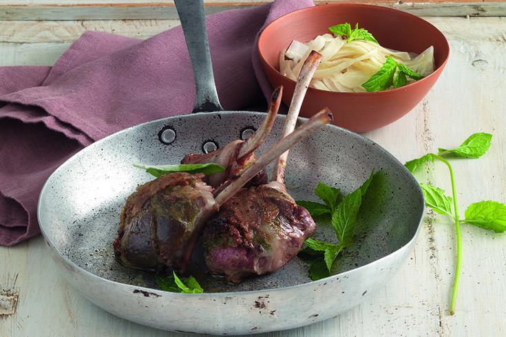 Aromatic lamb chops  - Costolette di agnello aromatiche - La Cucina Italiana: ricette, news, chef, storie in cucin a