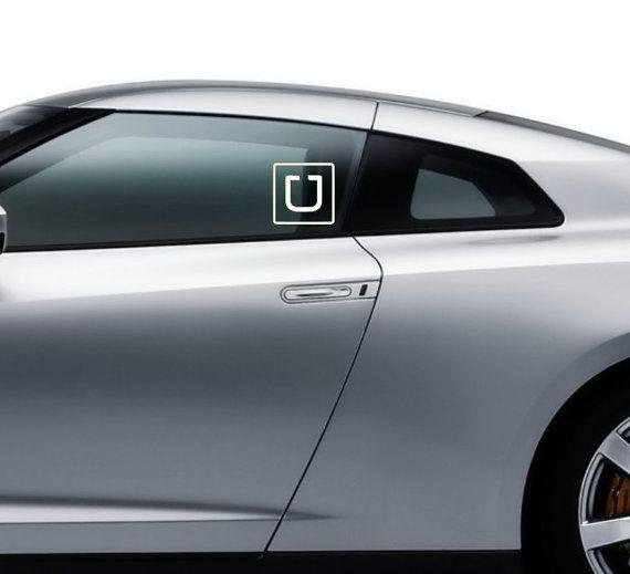 uber driver vinyl windows and window decals on pinterest. Black Bedroom Furniture Sets. Home Design Ideas