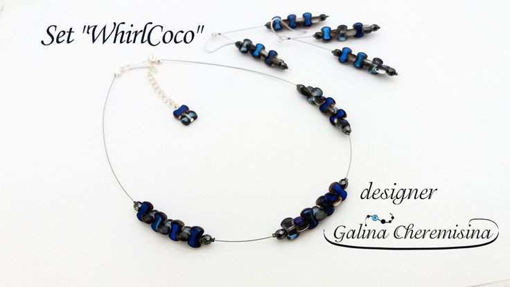 """DIY: Set """"WhirlCoco"""" with CoCo beads [Tutorial]"""