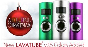 Volcano e-Cigs 15% Off Sale, New Lavatube 2.5 | Vaping Cheap Deals