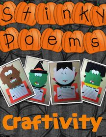 today in second grade halloween craftivity - Halloween Crafts For The Classroom