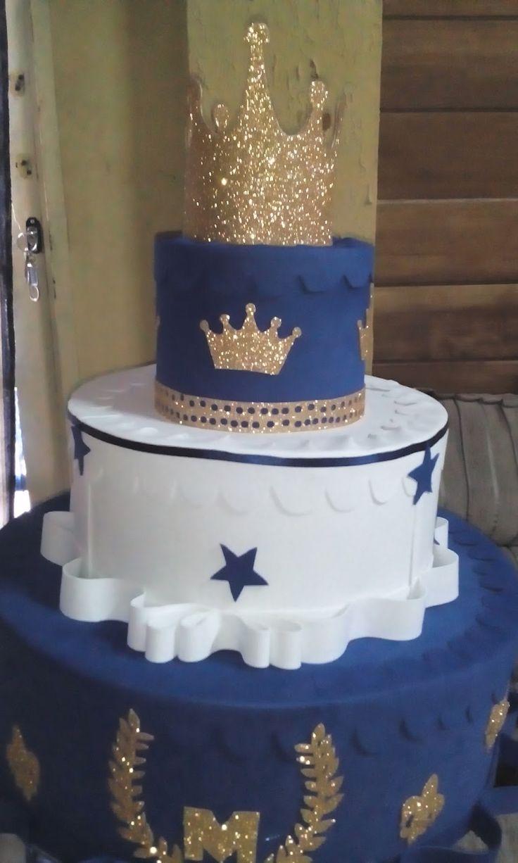 Decoracao fazendinha luxo bolo falso ccs decoracoes eventos car - Bolos Realeza Coroa Principe Festa Infantil Decora O Festa Infantil Decora O