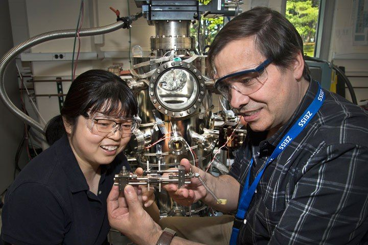 Scientists have developed a new low-temperature catalyst for producing high-purity hydrogen gas while simultaneously using up carbon monoxide (CO). The discovery—described in a paper set to publish online in the journal Science on Thursday, June 22, 2017—could improve the performance of fuel...