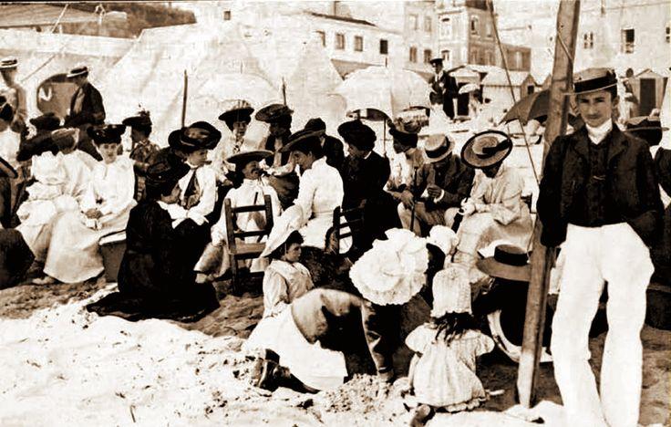 Cascais (praia) - 1906