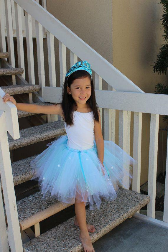 Adorable Snow Queen Elsa inspired Tutu by LittleMogi on Etsy