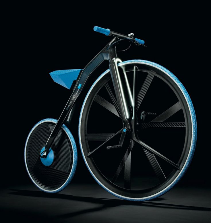 CONCEPT 1865 – As a tribute to this era of enthusiasm for technology and invention, BASF and the DING3000 design studio have developed a velocipede wi…
