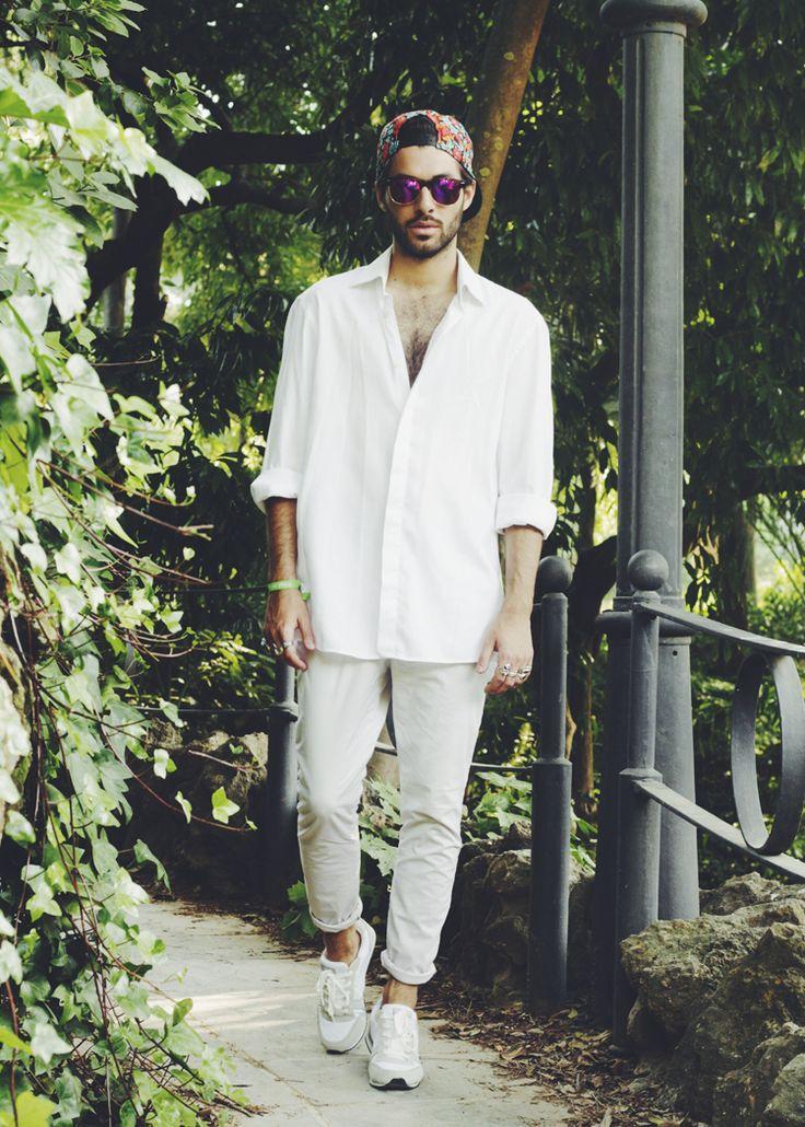 White street style