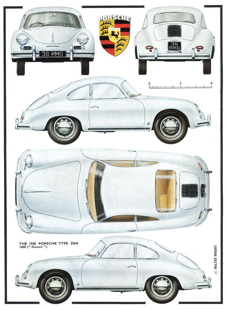 1958 Porsche 356 / Ferdinand Porsche
