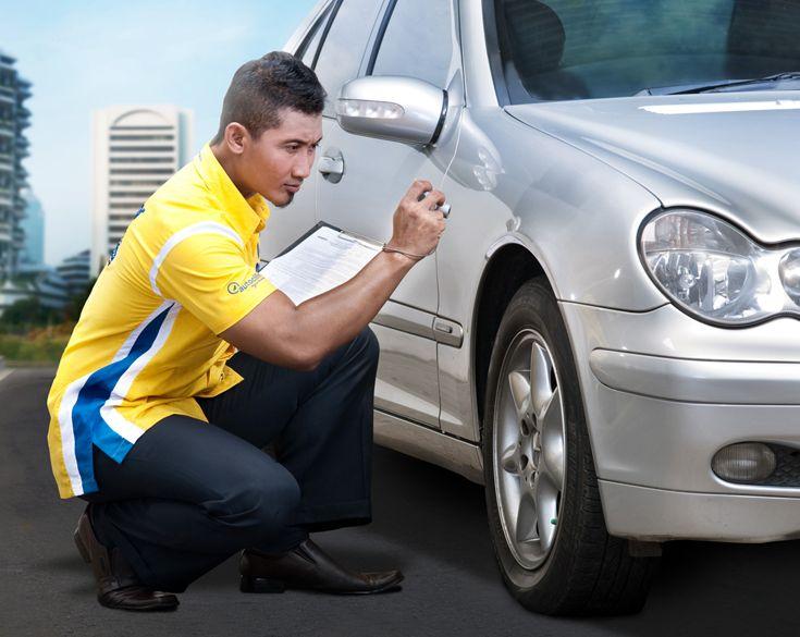 Inspector : Petugas kami selalu siap memeriksa kondisi mobil Anda:) Call Adira Care 500456