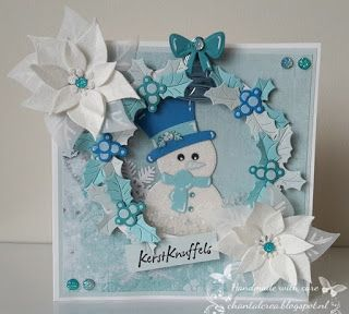 Chantals Crea Blog: Frosty the snowman!
