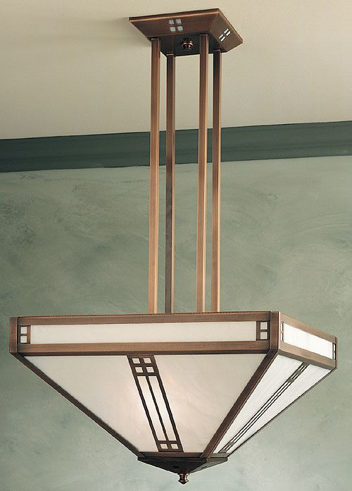 Features:  -Accommodates: 4 x 60W / 8 x 60W medium incandescent bulbs.  -Prairie collection.  -UL listed.  -Suitable in dry location only.  Fixture Type: -Inverted pendant.  Style: -Mission/Shaker.  N