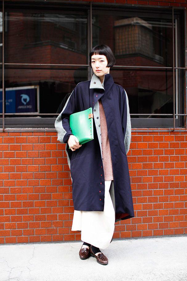ストリートスナップ | 三島京子 | モデル | 青山 (東京)