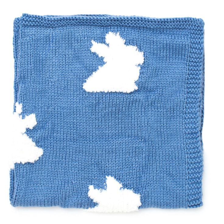 Bernat Bunny Hop Blanket | Knitting projects blanket ...