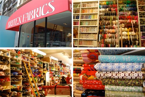 Britex Fabric store, San Francisco