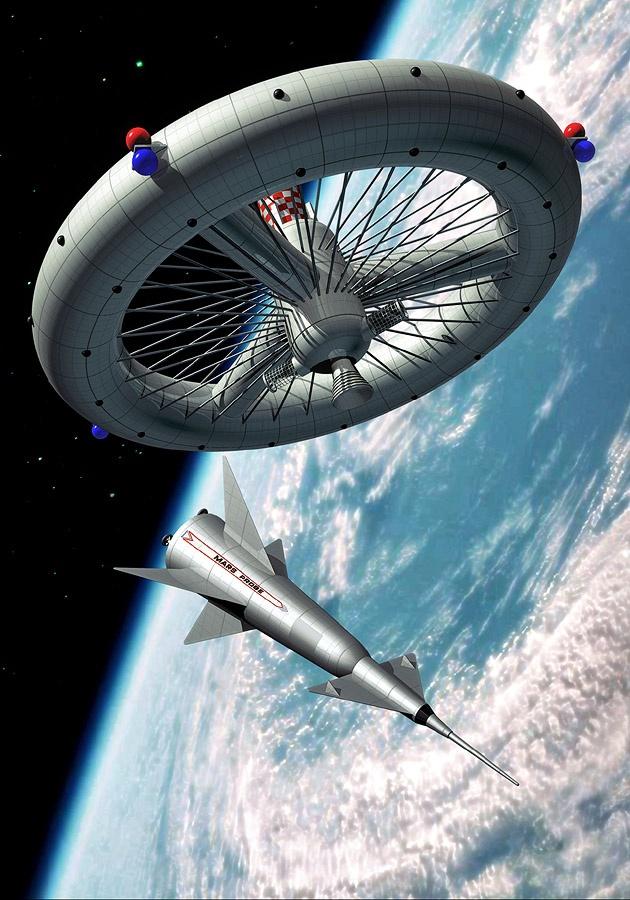Mars Probe - illustration - Luca Oleastri - www.innovari.it