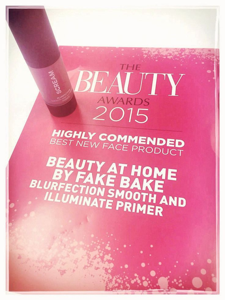 The Beauty Awards 2015 Highly Commended - Best New Face Product Blurfection Smooth and Illuminate Primer