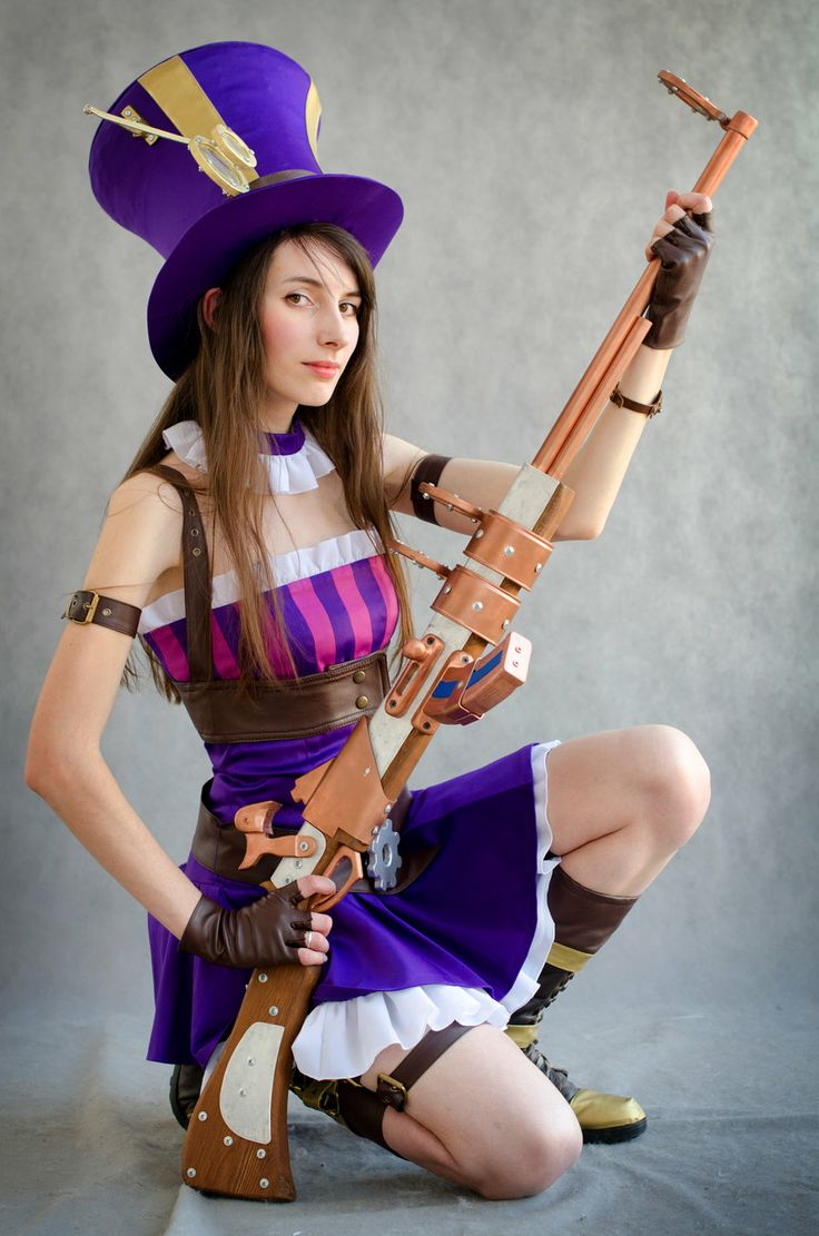 Caitlyn League of Legends Cosplay | cos play | Pinterest ...