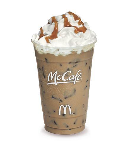My Favorite Drink From McDonald's...Iced Caramel Mocha