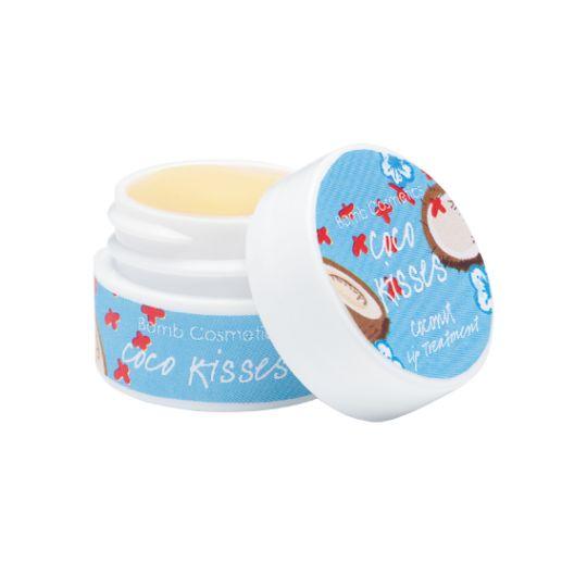 Bomb Cosmetics Kuracja do ust kokosowe pocałunki