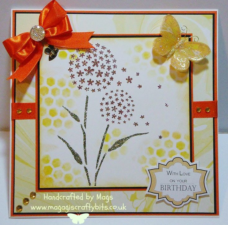 Sparkle medium, alium stencil and honeycomb stencil