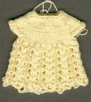 Robe au tricot