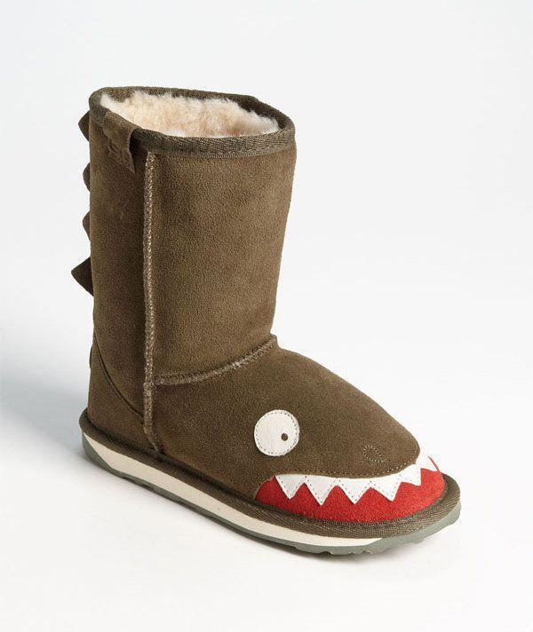 EMU Australia 'Little Creatures - Croc' Boot (Toddler, Little Kid & Big Kid)