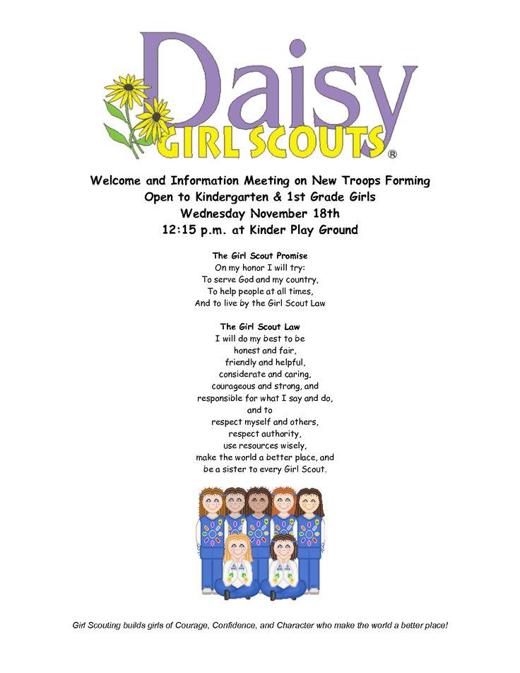 Daisy Girl Scout Craft Idea