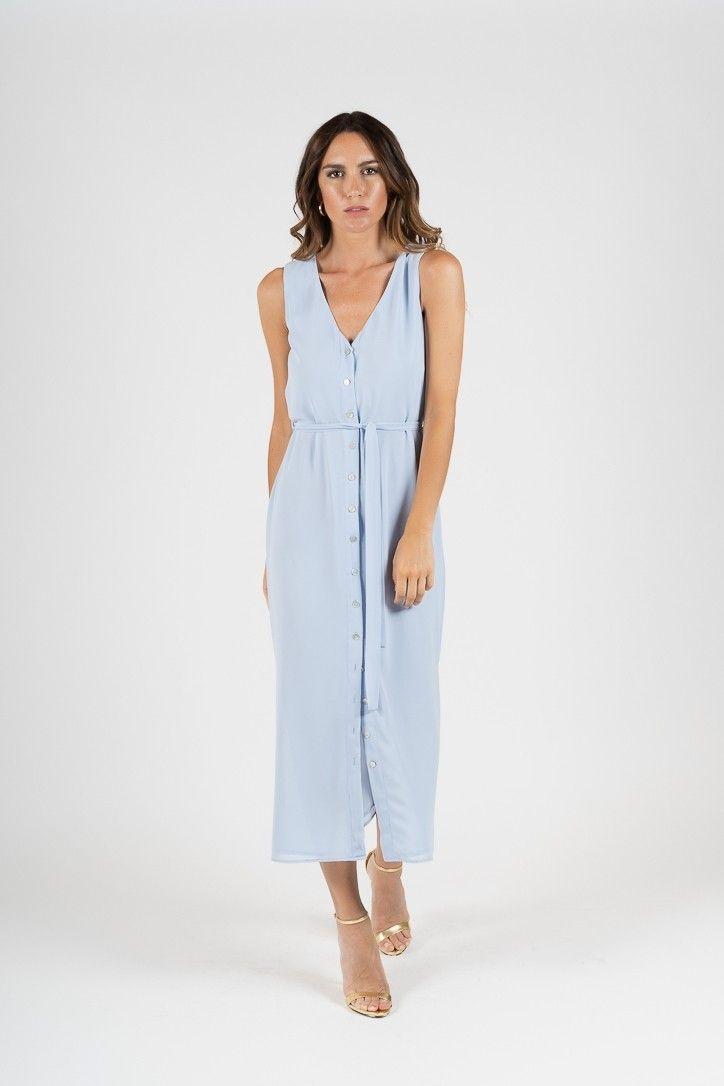 Vestido Vestidos L W Shop08 Calima I T Azul S H Ártico l1FJc3KT