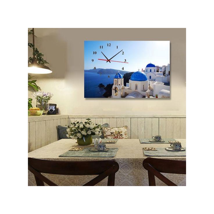 壁掛け時計 壁画時計 静音時計 おしゃれ 1枚パネル 海
