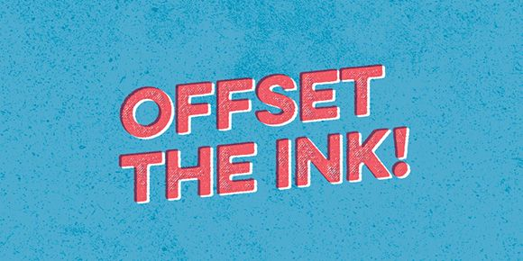 How to Create an Offset Ink Effect in Photoshop | Every-Tuesday, check it out here: http://every-tuesday.com/how-to-create-an-offset-ink-effect-in-photoshop/